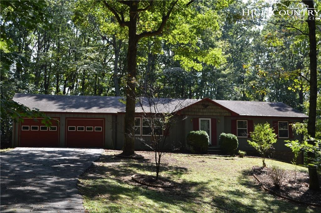 Ranch in Town  on Beautiful Wooded Lot
