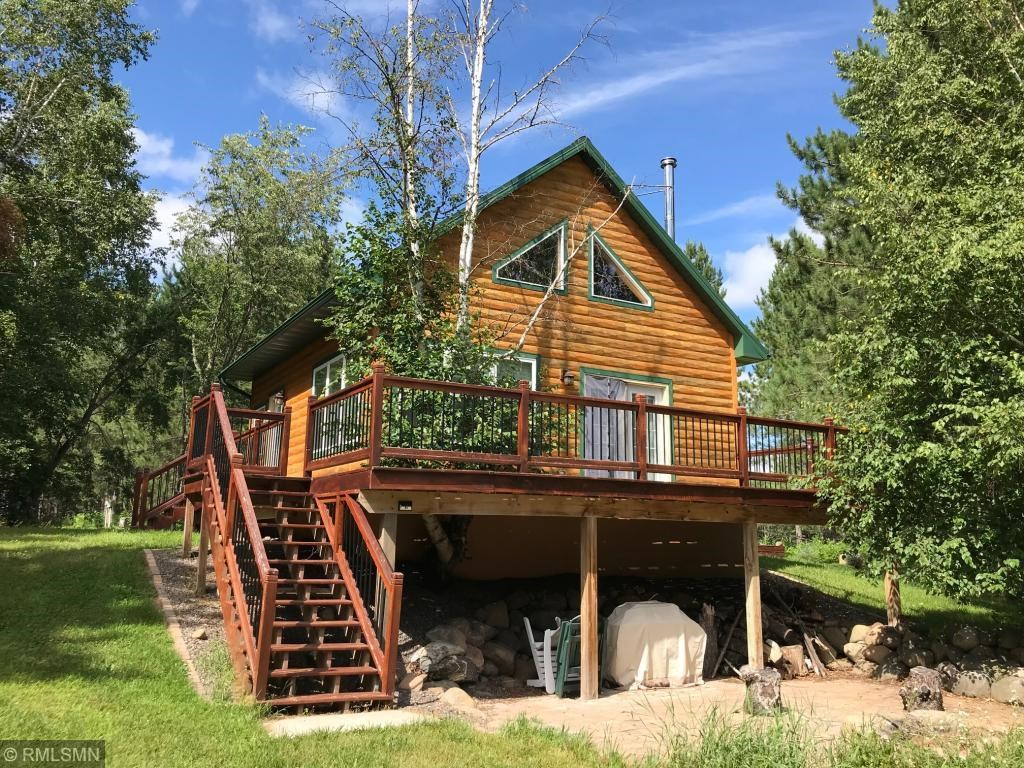 Log Cabin For Sale Near the Nemadji State Forest, Holyoke MN