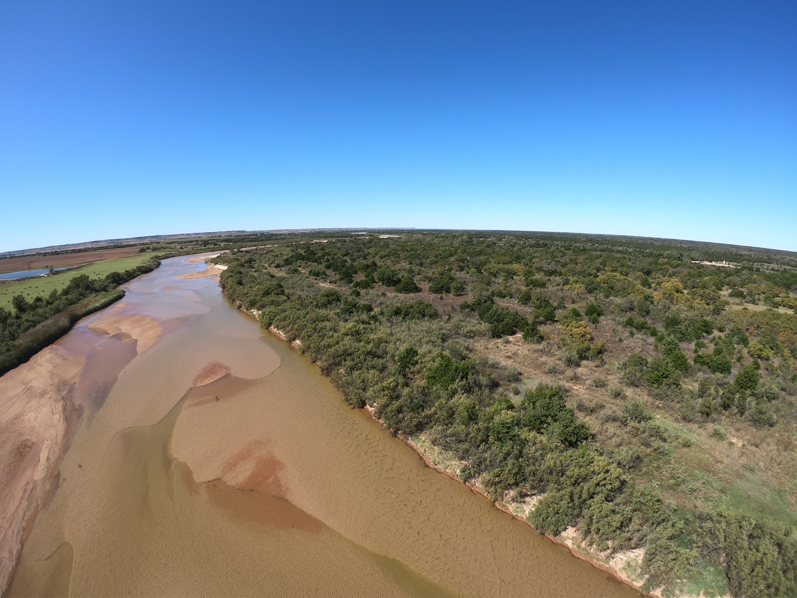 500 acres m/l. WOODS COUNTY OKLAHOMA HUNTING Land for Sale