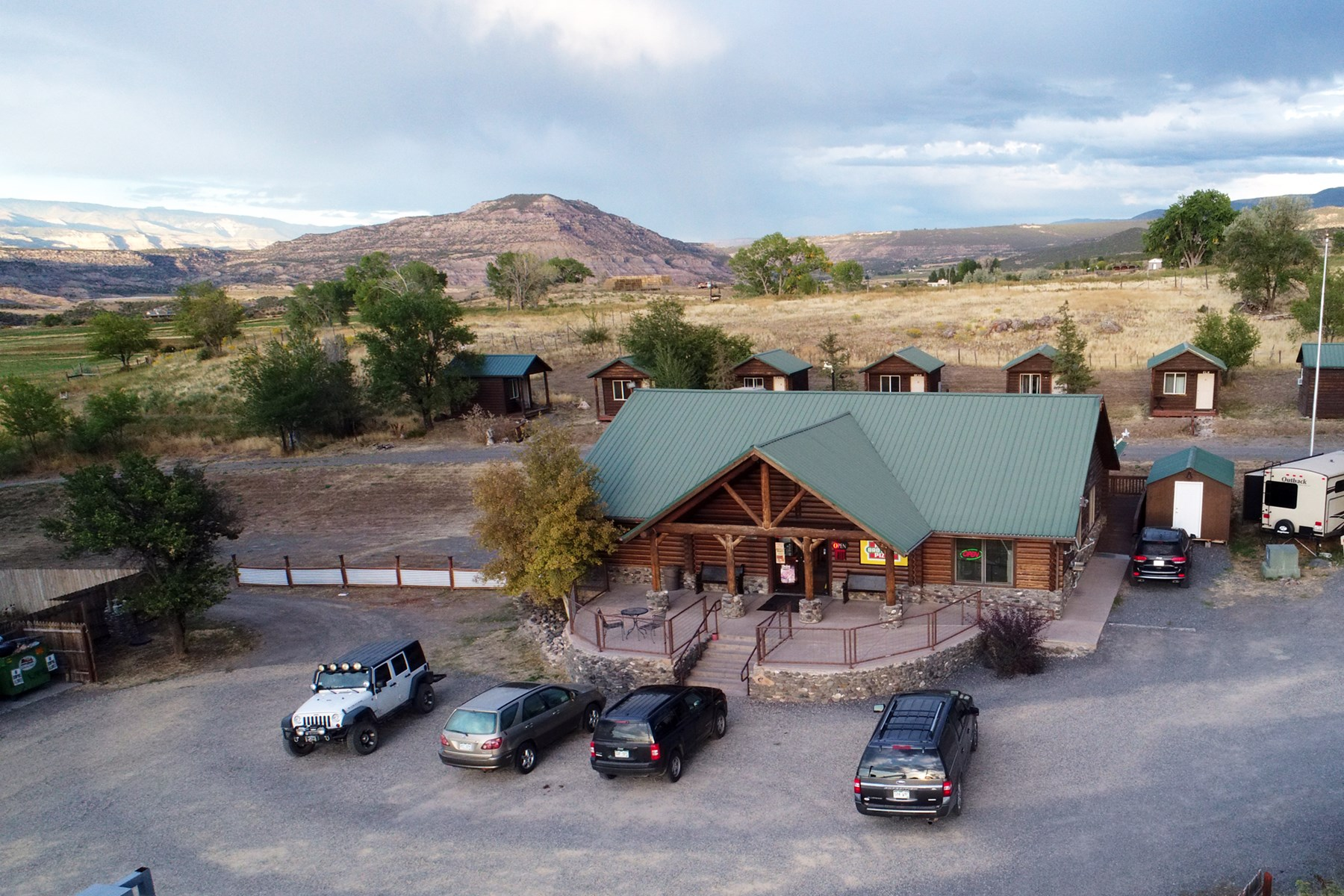 Investment RV Park, Convenience Store, Cabin Rental For Sale
