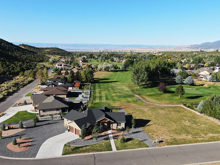 Western Colorado Golf Course Home For Sale