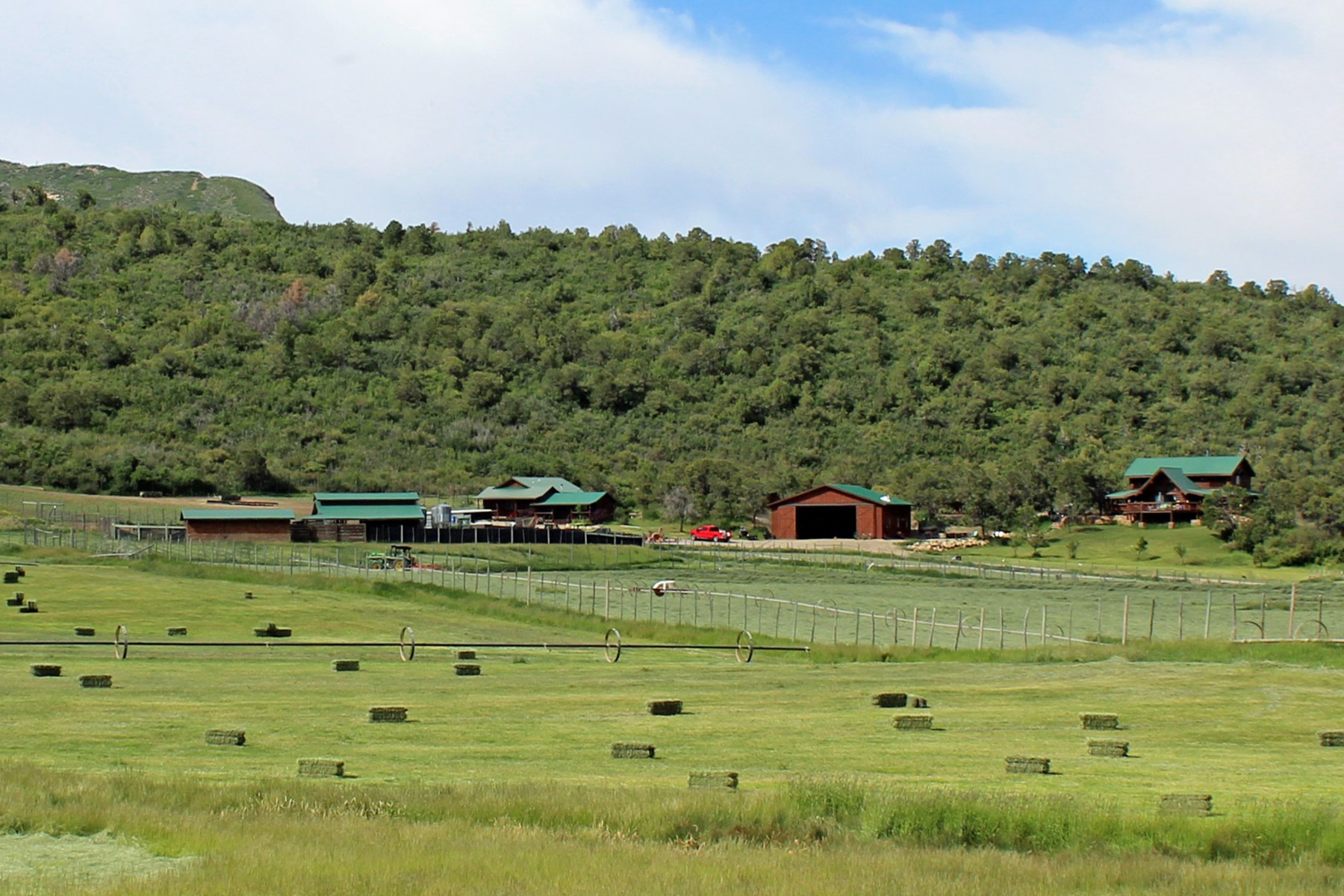 Ranch with beautiful home and guest house in SW, CO