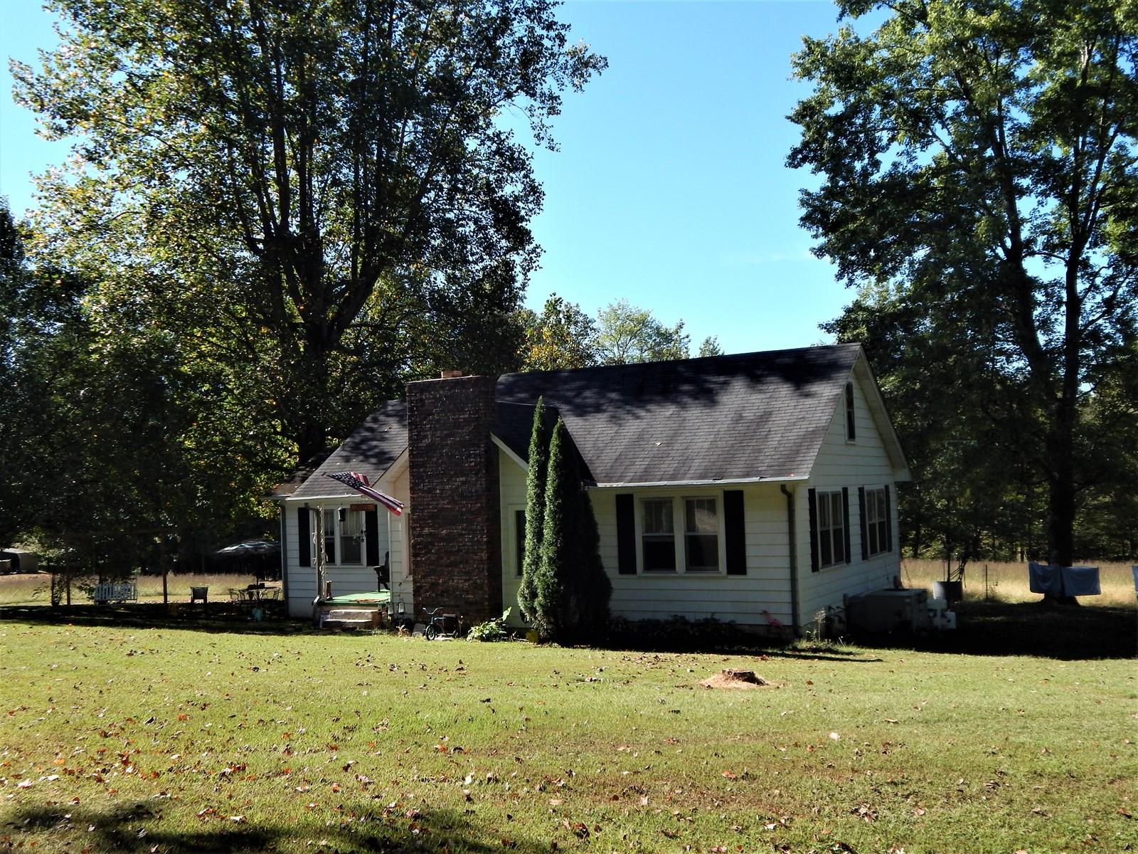 Rustic Tn. Country Home, 2 Bed-1 Bath, 9.8 Acres, Creek, Pas