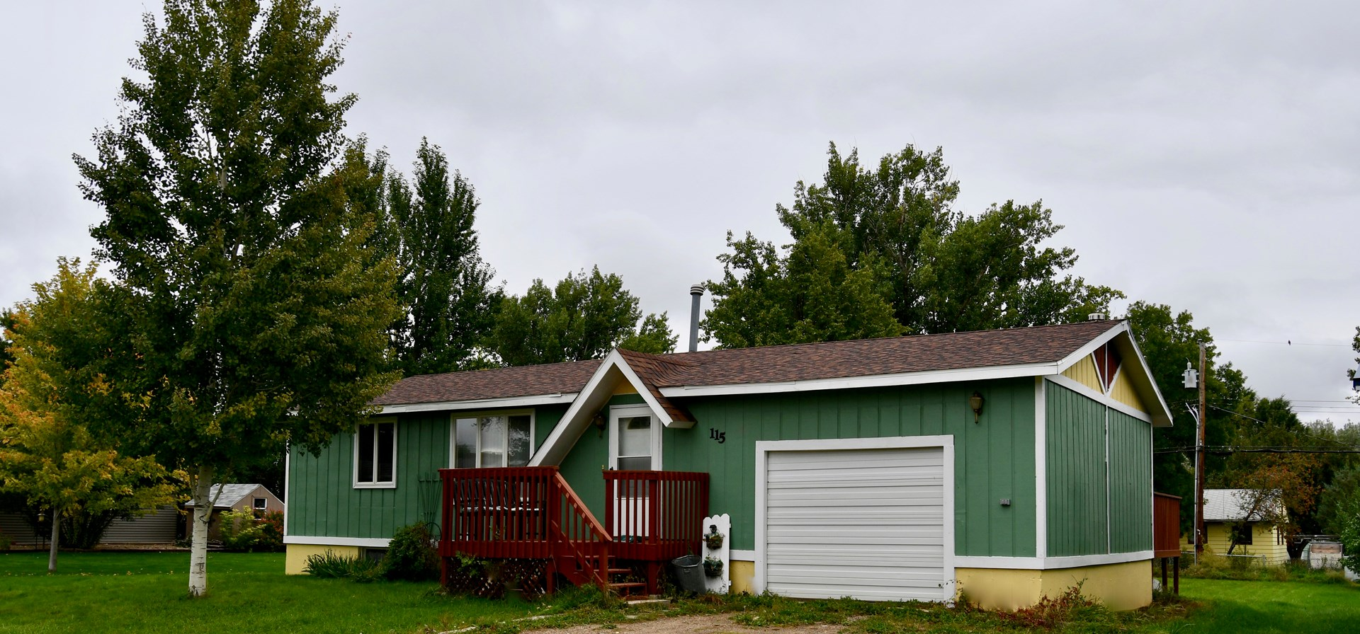 3 Bedroom 2 Bath, Garage, Double Car Steel Building