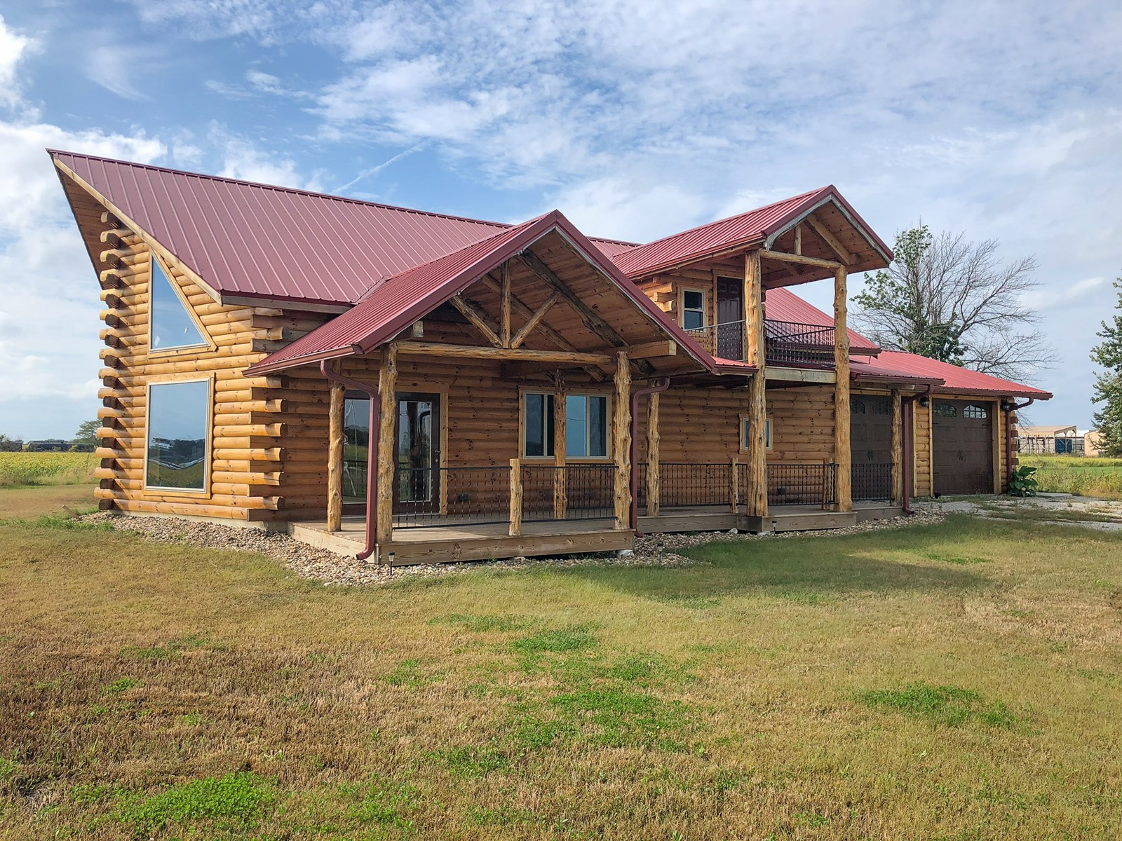 Newly Constructed Log Cabin for Sale