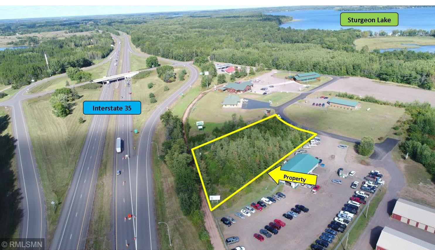 Commercial Lot for Sale with Frontage on Interstate 35, MN