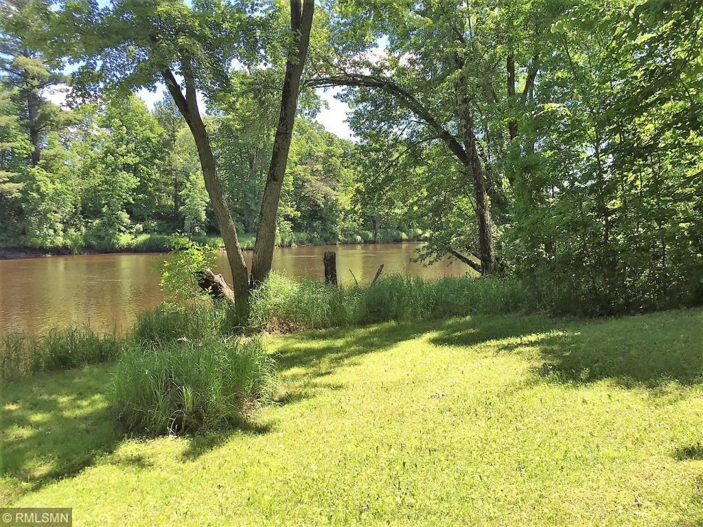 Riverfront lot For Sale with Camper and Utilities, Pine City