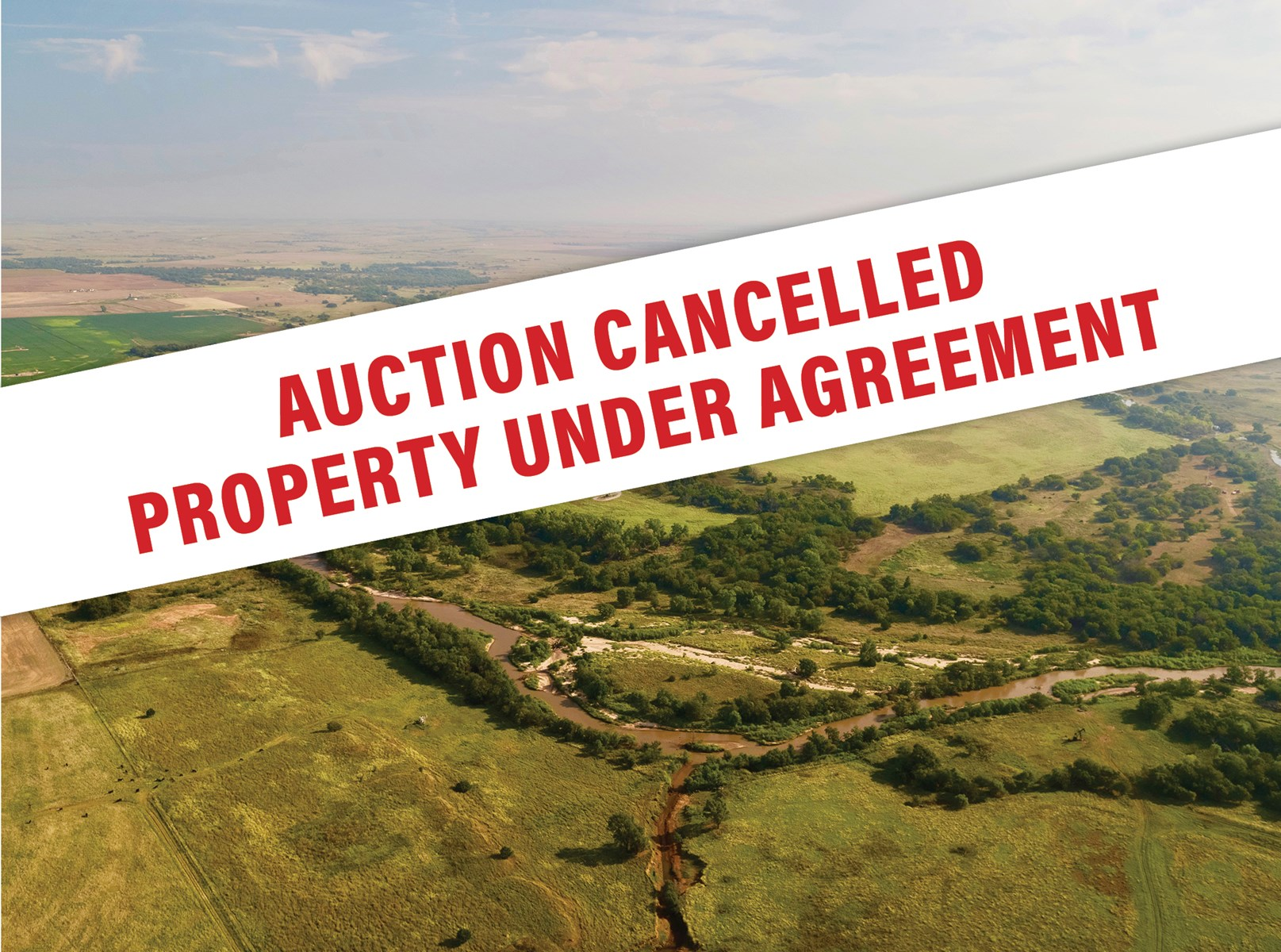 MEDICINE RIVER RANCH BARBER COUNTY KANSAS ABSOLUTE AUCTION KS LAND FOR SALE