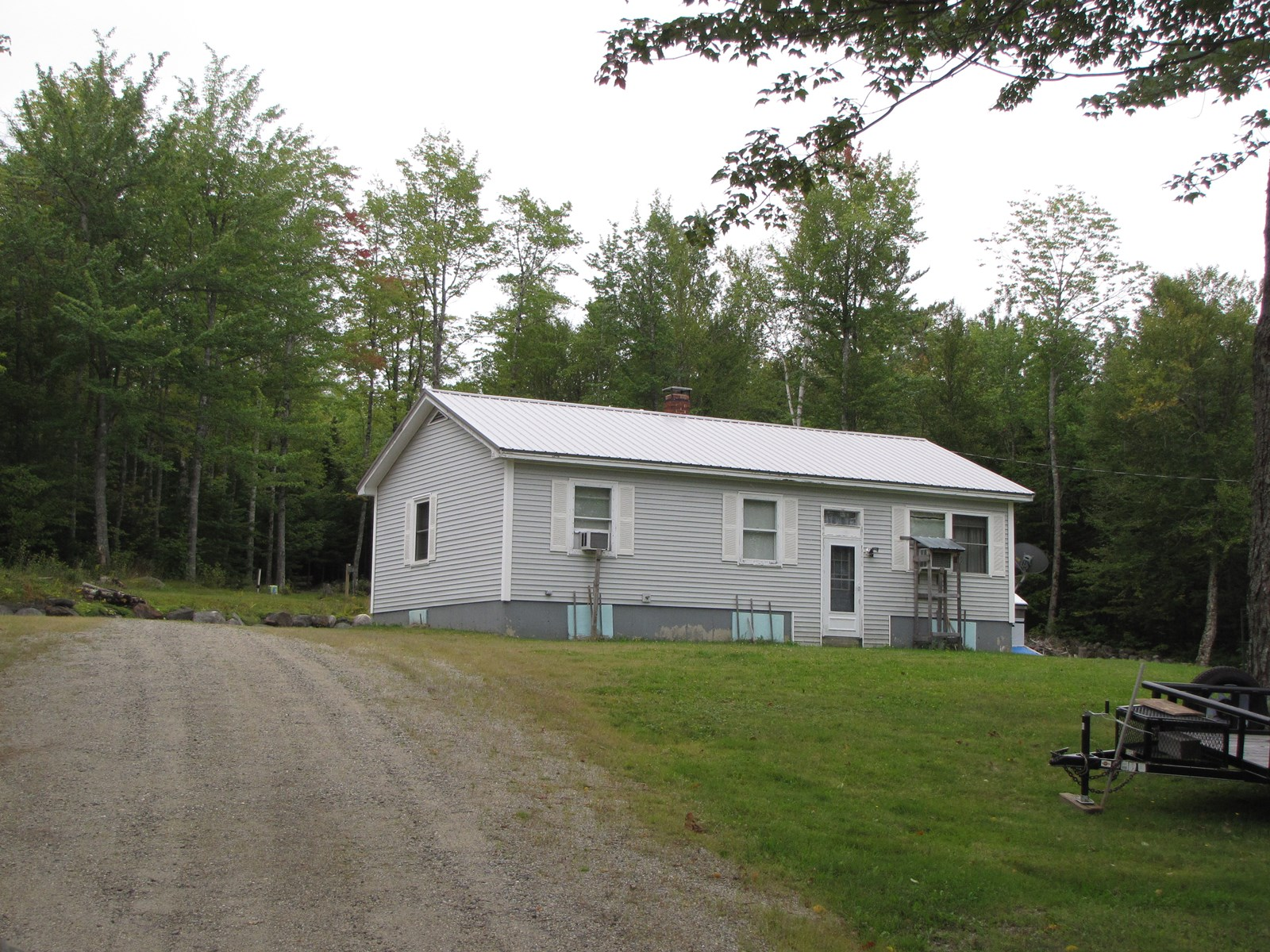 Country Ranch For Sale in Wesley, Maine