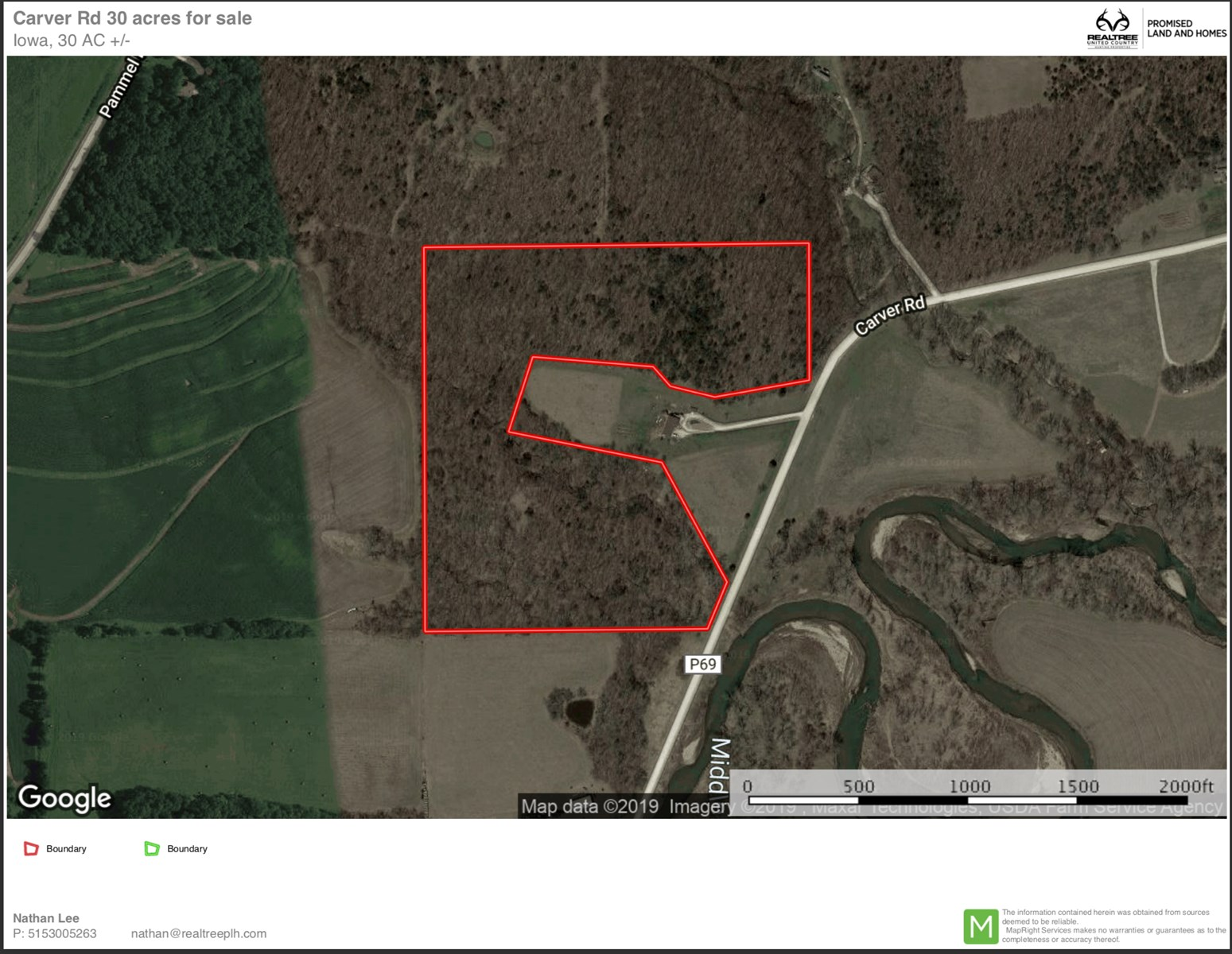 Land for sale in Madison Co., Iowa