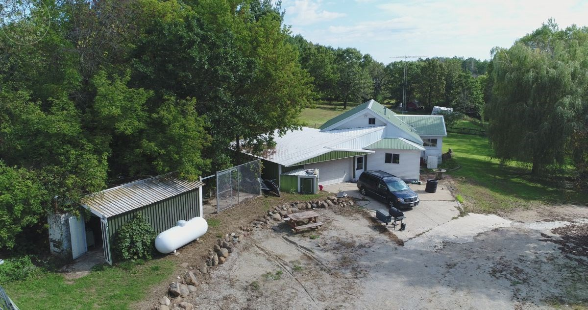 Columbia County WI Home with 4 Acres