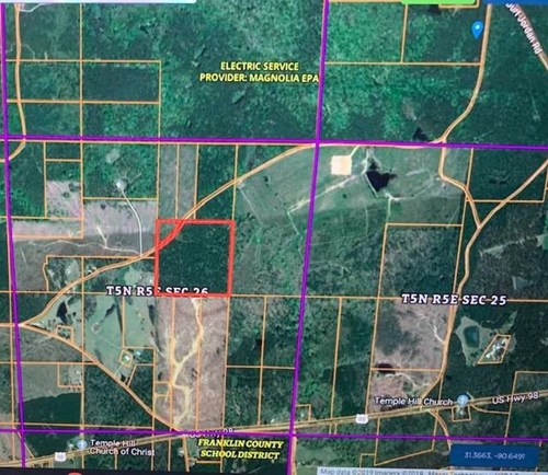 40 Acres Hunting Land Franklin County Smithdale Mississippi