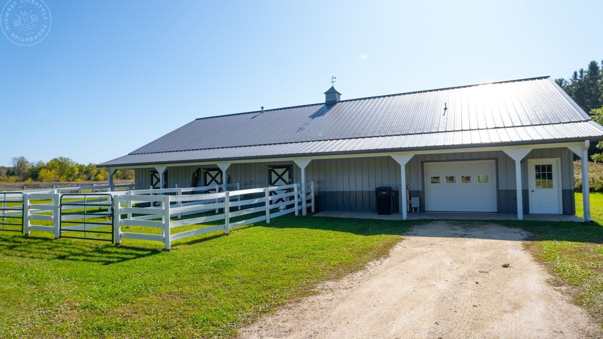 Wisconsin Land For Sale in Ozaukee County-Horse Property & B