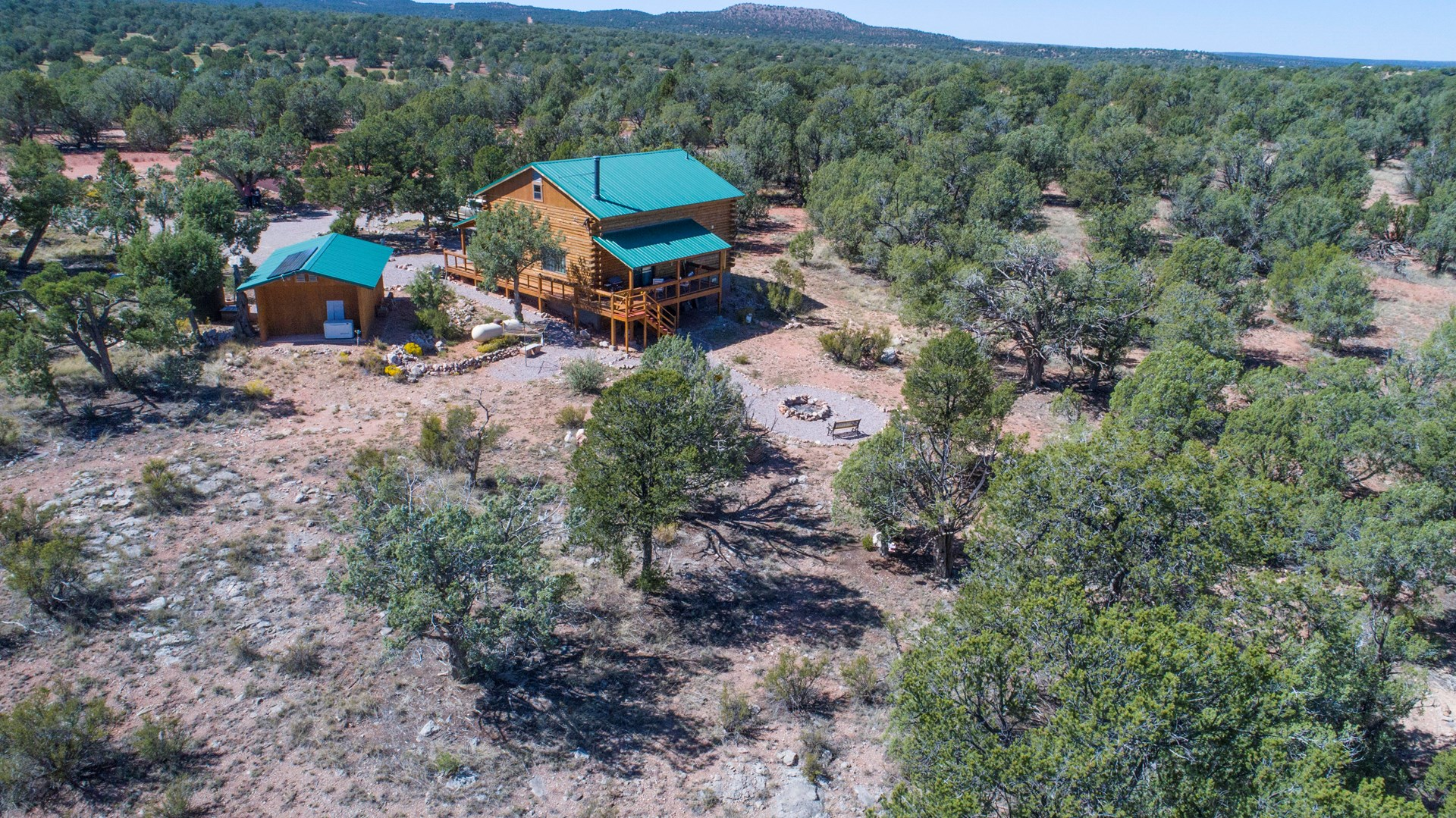 Log Cabin Off Grid for Sale Northern Arizona