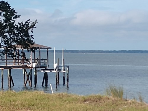 1.5 acres on Port Royal Sound for sale in South Carolina