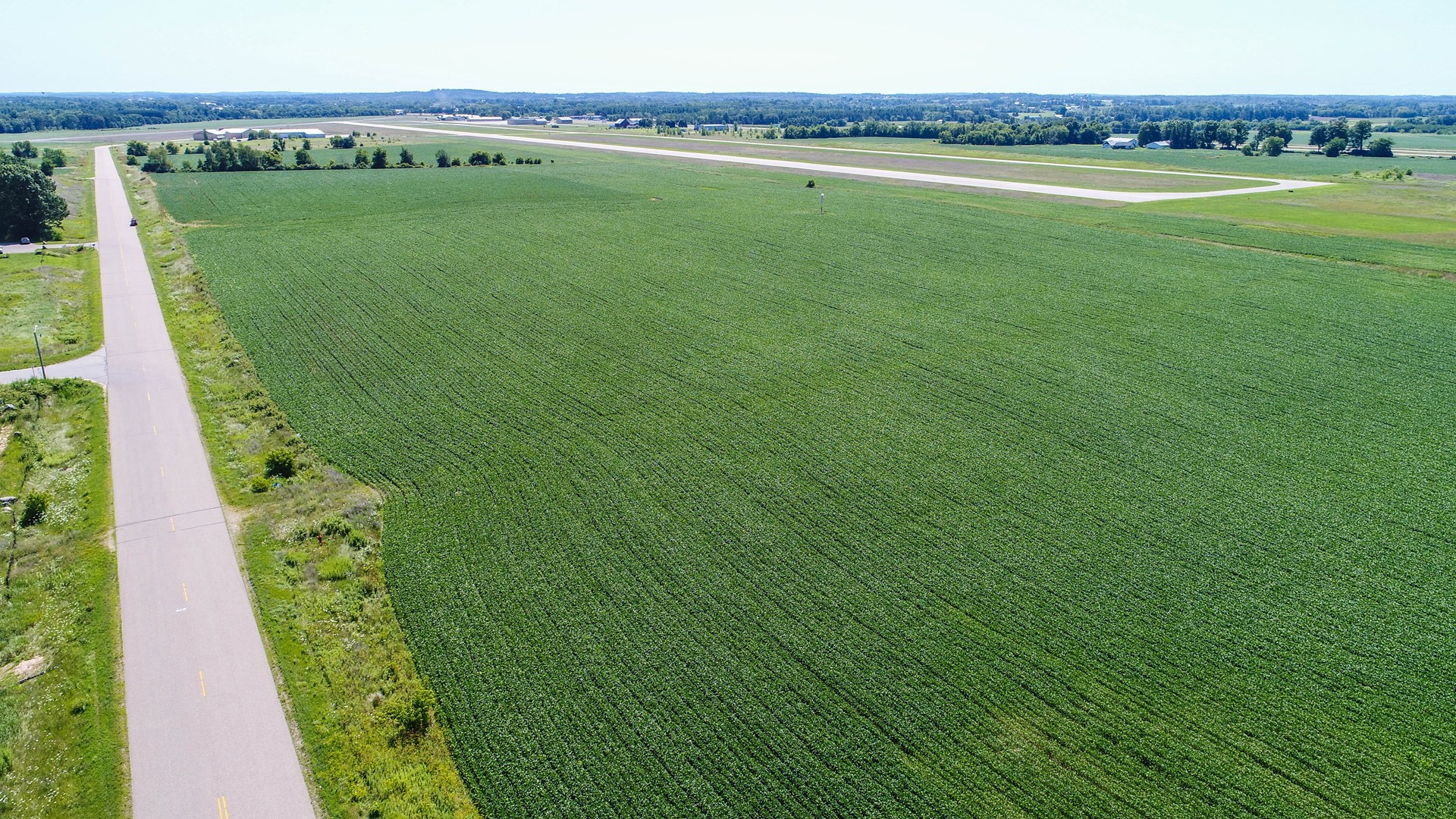 Commercial Land for sale Central WI, Crop Land Waupaca WI