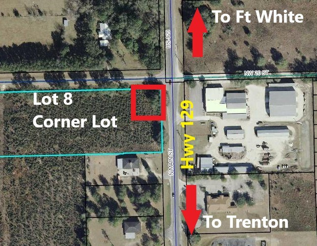 COMMERCIAL LAND FOR SALE GILCHRIST COUNTY FLORIDA