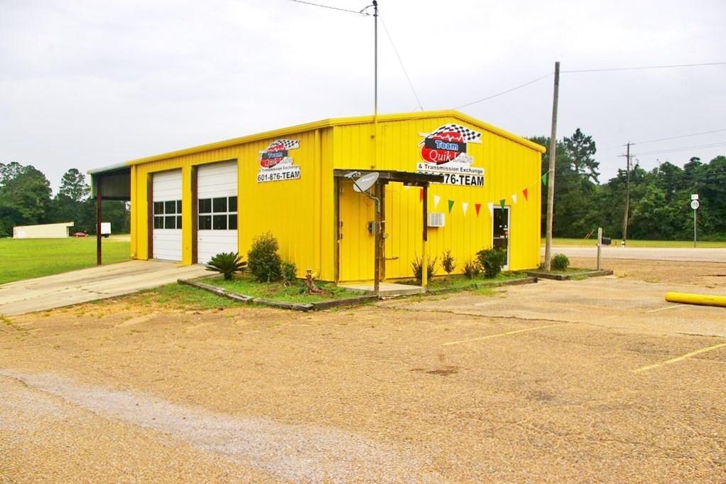 Commercial Auto Repair/ Oil Change Shop Tylertown, MS