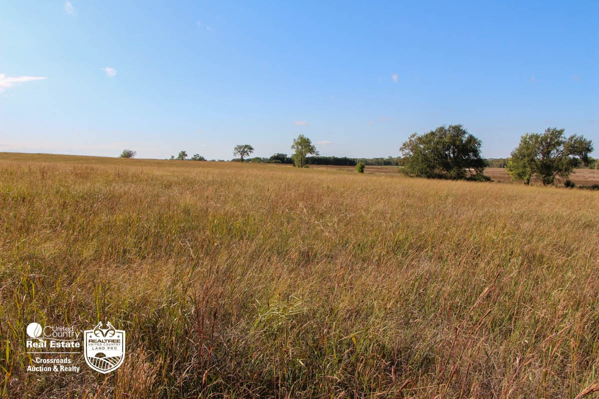 Saline County, Kansas Pasture, Farmland & Farmstead For Sale
