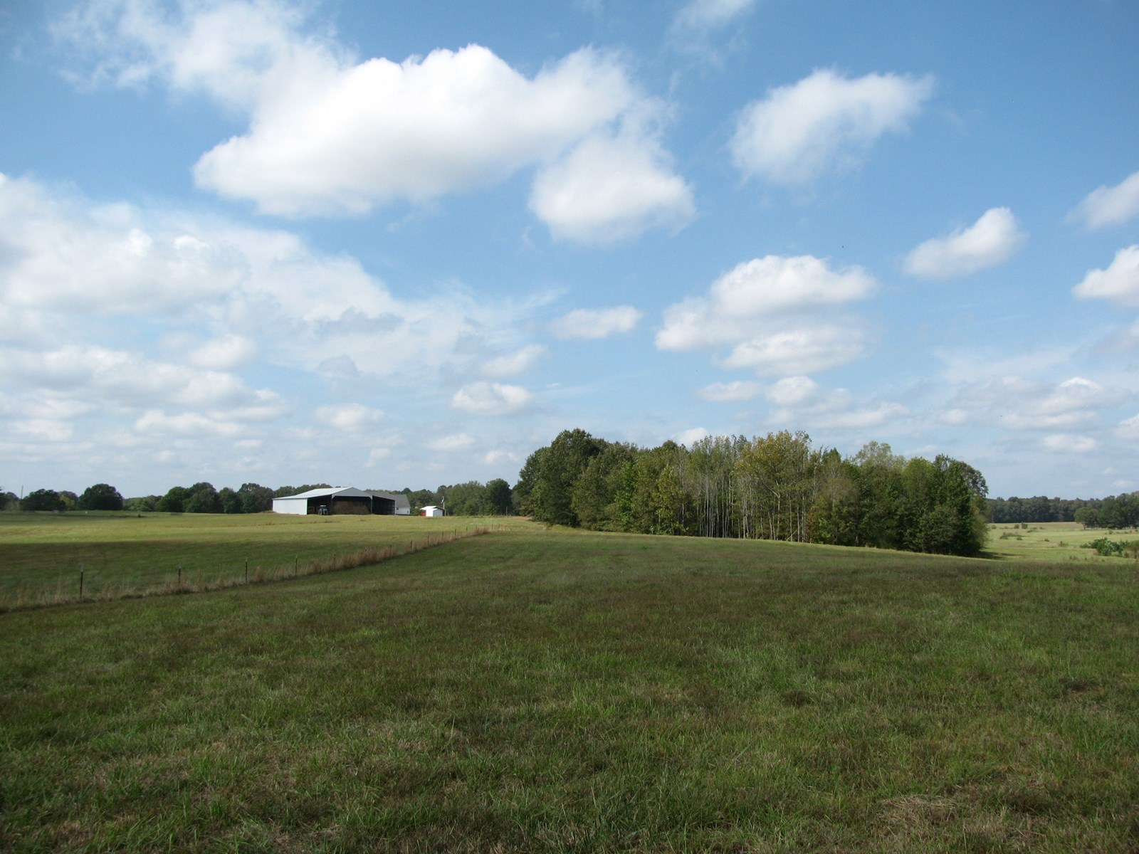 FENCED AND CROSS FENCED PASTURE WITH BARN FOR SALE IN TN