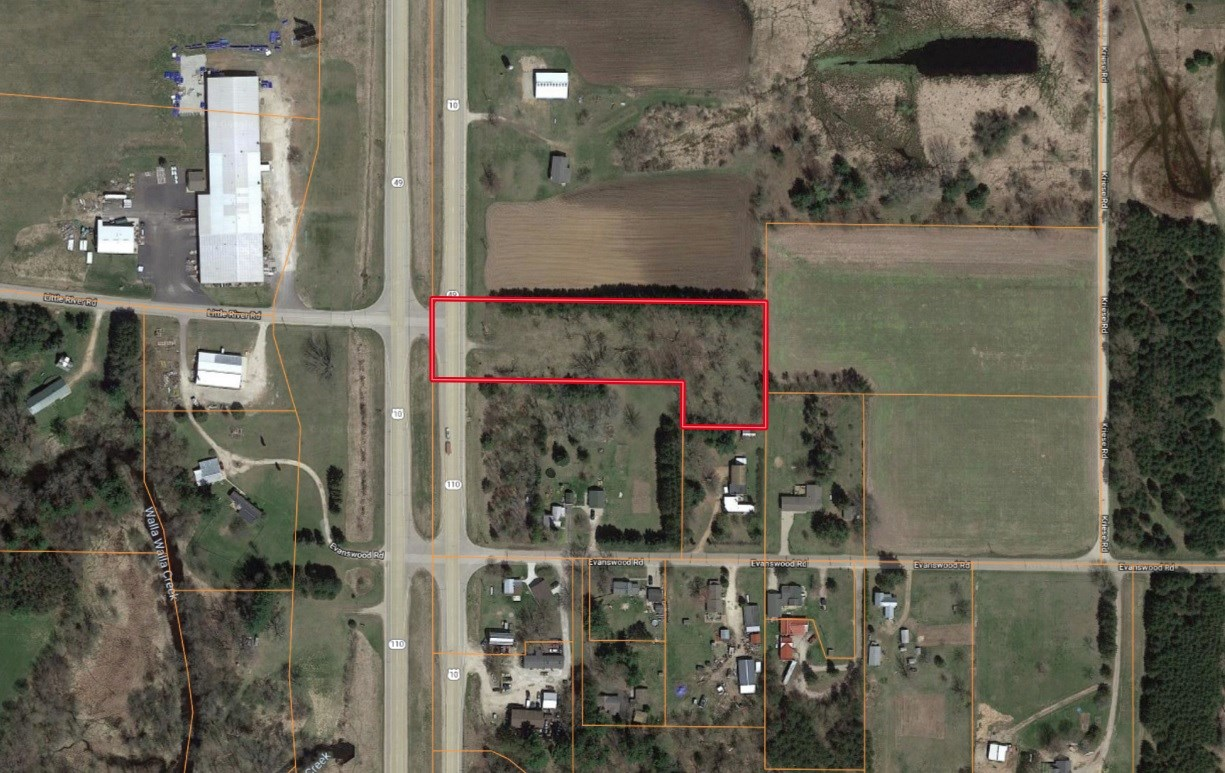 Land for Sale US HWY 10 Waupaca County