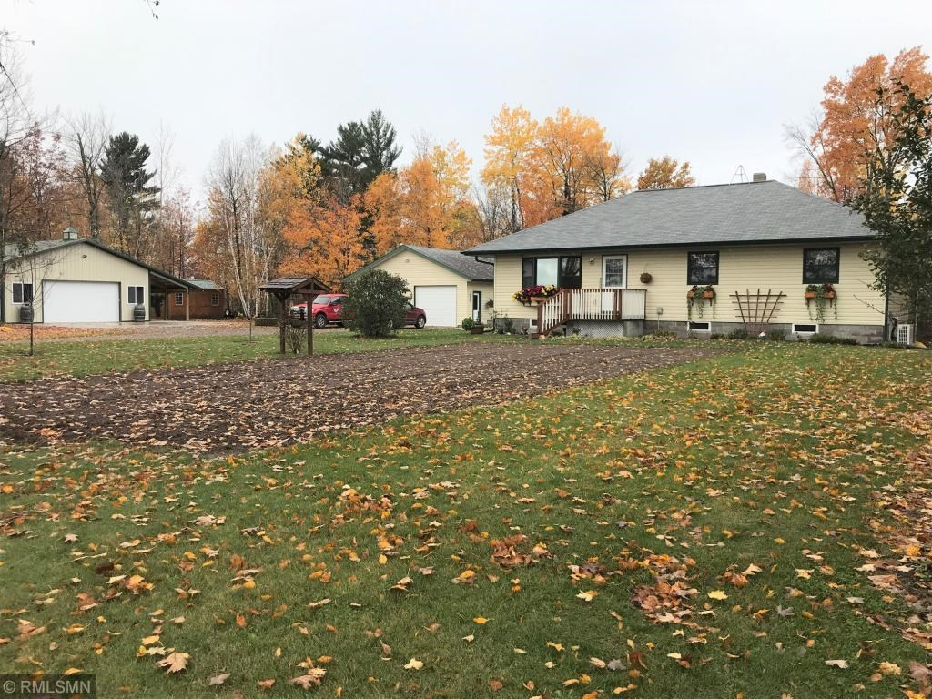 Country Home and Outbuildings for Sale Acreage, Minnesota