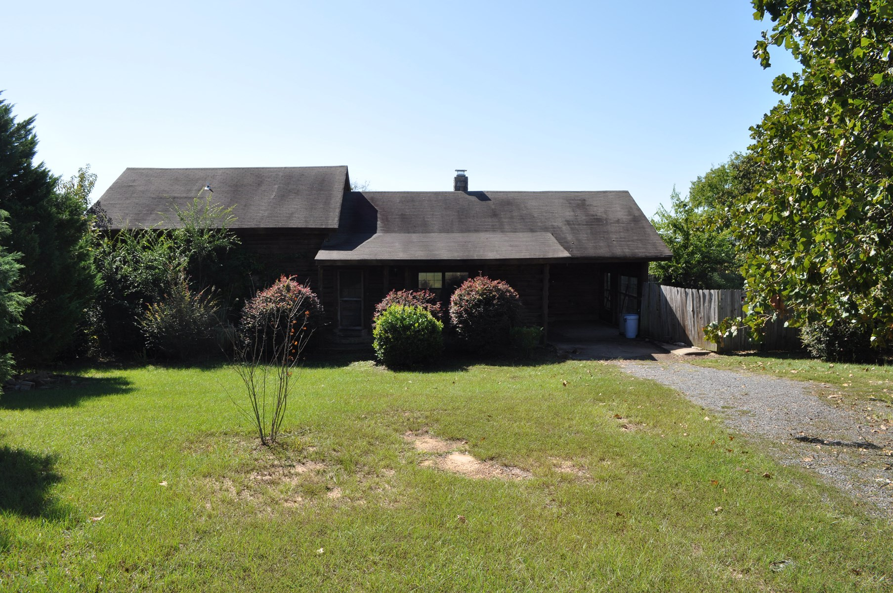 Foreclosed Country Log Home For Sale!!