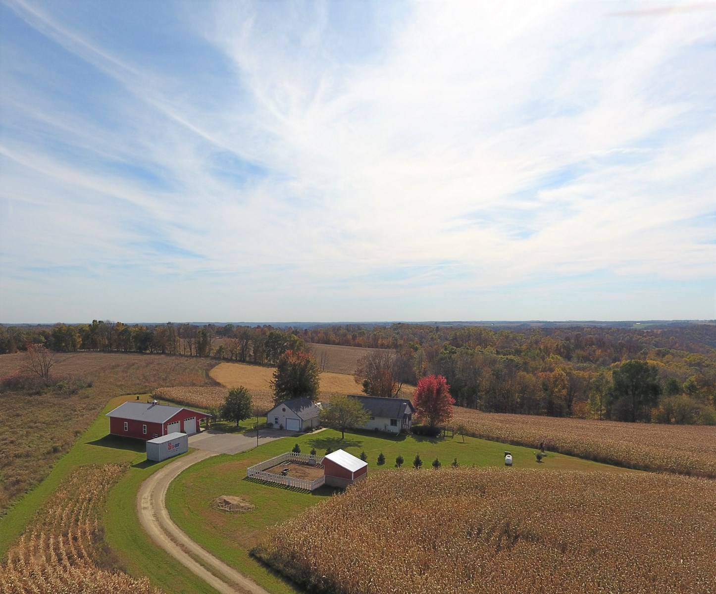 Country Home Hobby Farm For Sale in SW Wisconsin 14.1 Acres