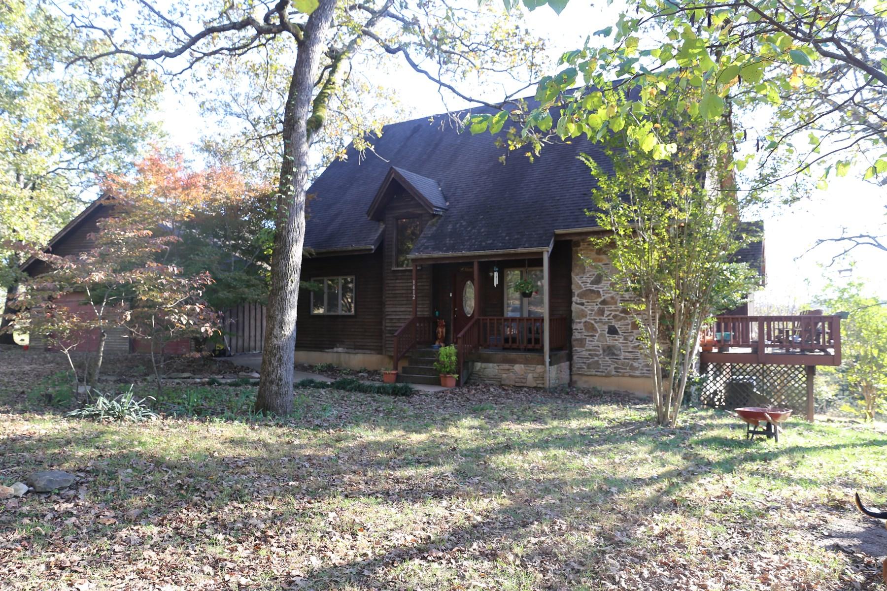 Stone and Cedar Ozark Missouri Home