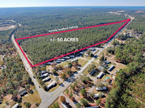 Lexington County, SC Timber Acreage in Expanding Community