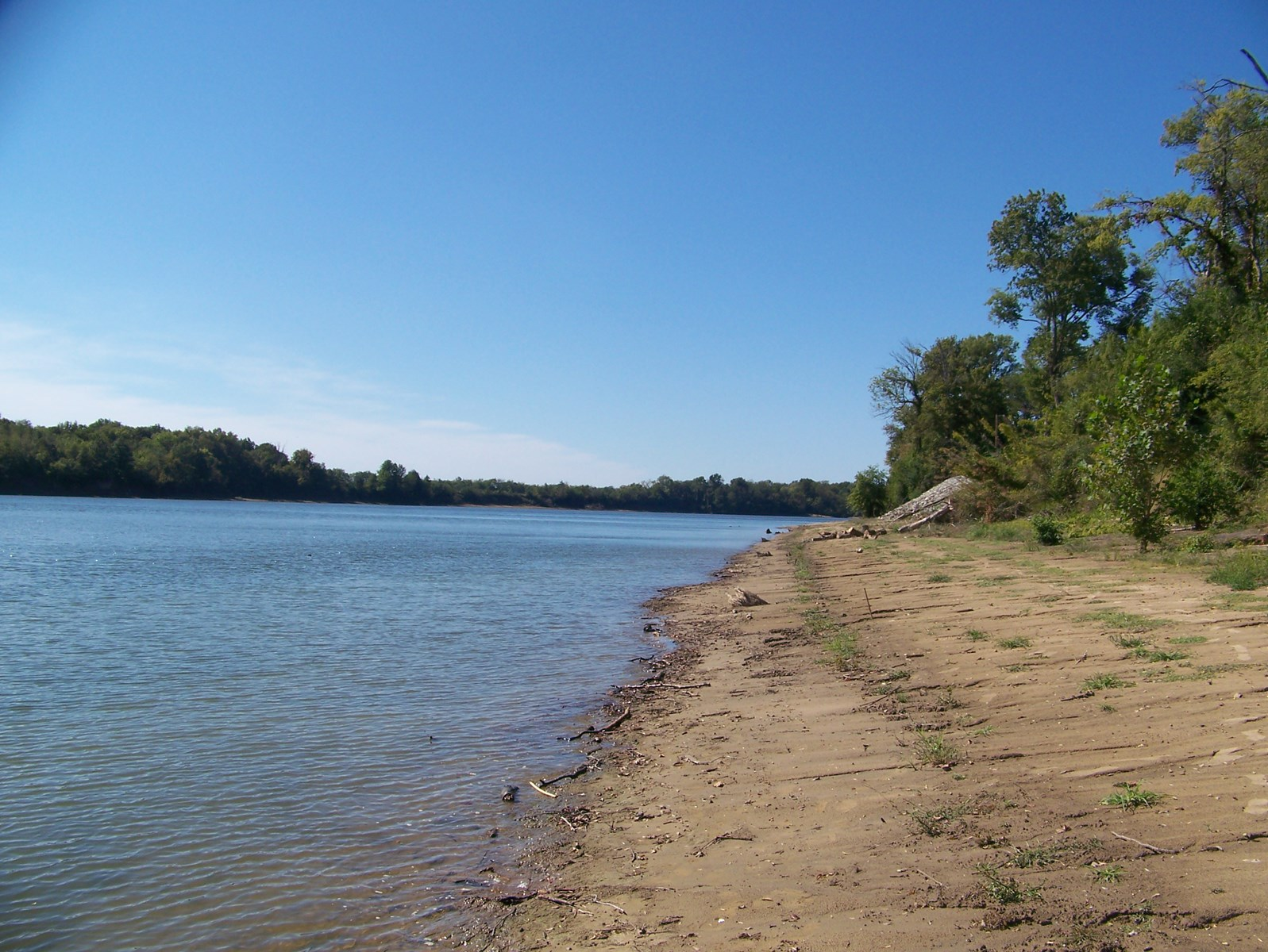 WATERFRONT LAND FOR SALE ON THE TENNESSEE RIVER