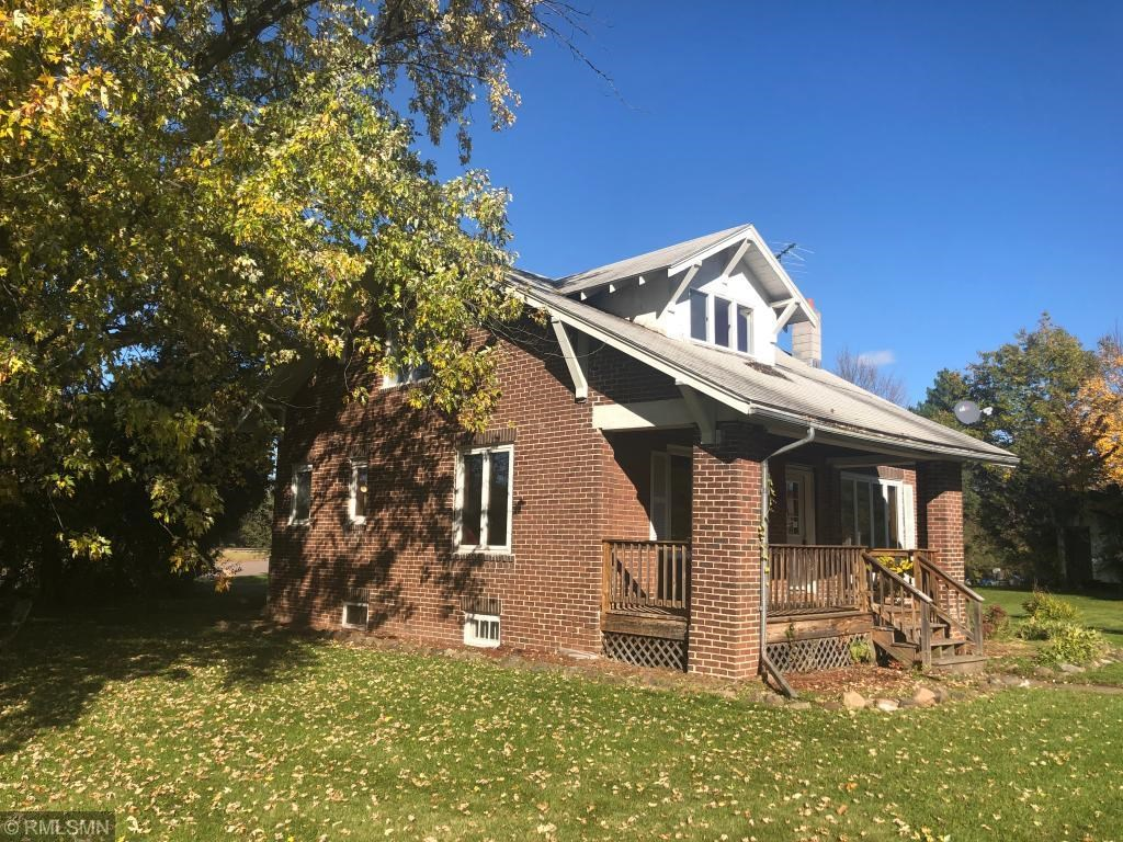 Askov, MN Home for Sale in Town on Large Corner Lot