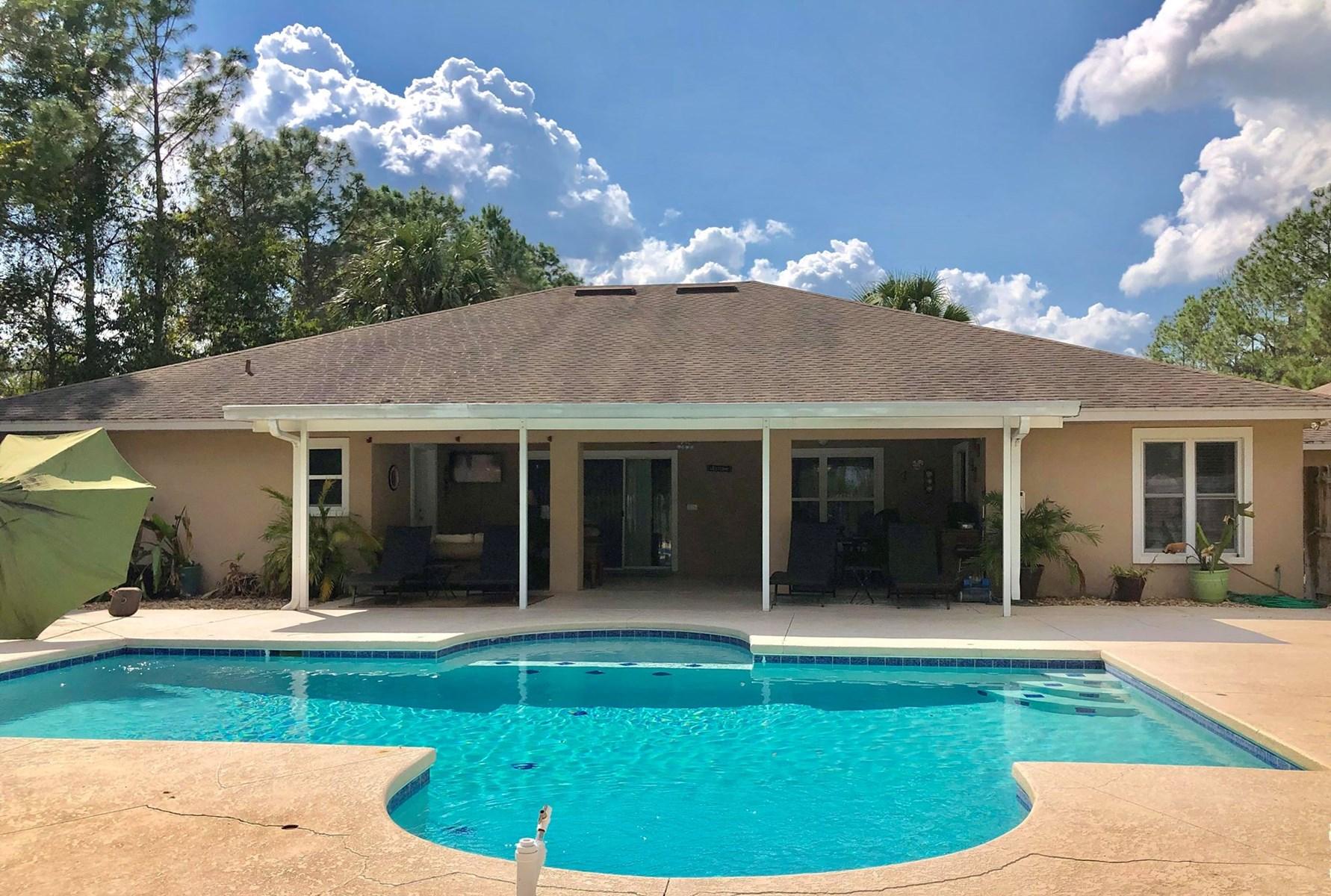 5br 4ba 2 865 Sq Split Plan Home W Pool On 2 Acres