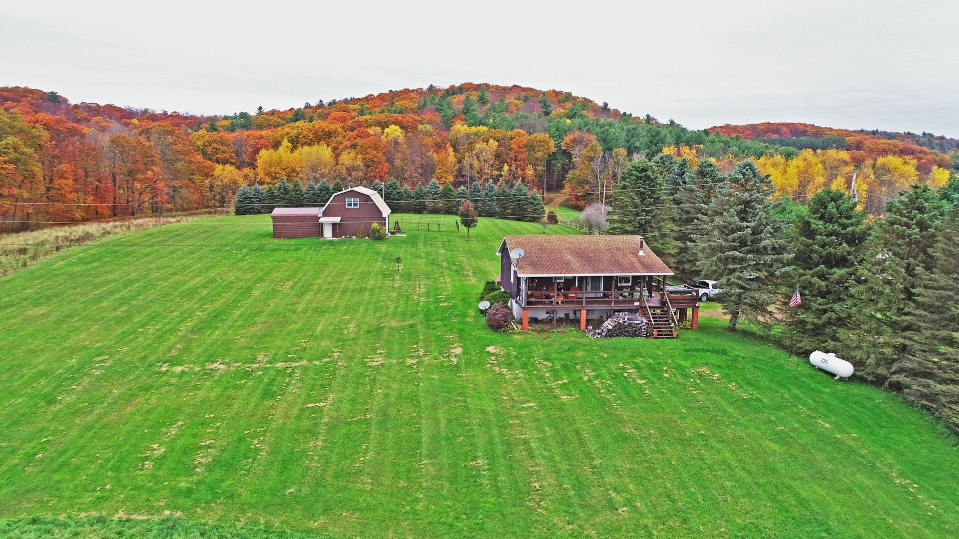 Country Home on 8+/- acres with Mountain Top Views