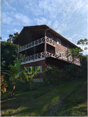 Oceanfront home with commanding view of sheltered bay