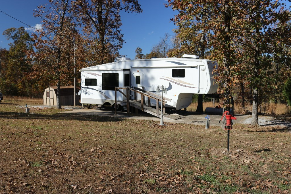 RV and 3 Acres For Sale in the Ozark Mountains