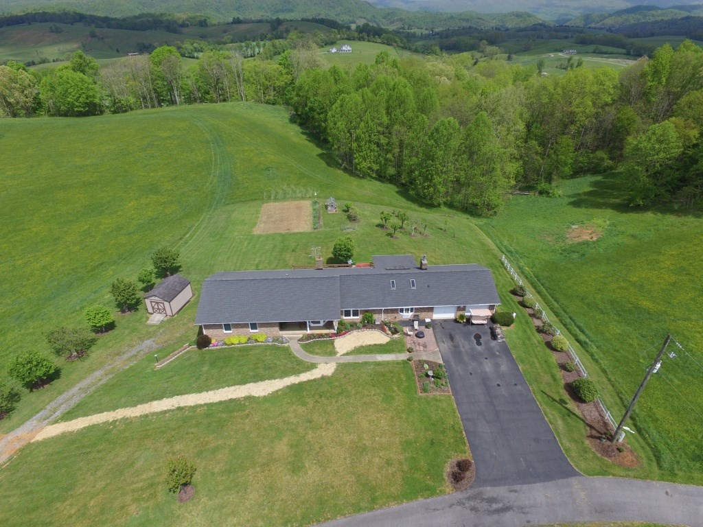 73 Acre Farm with large home near Marion, VA