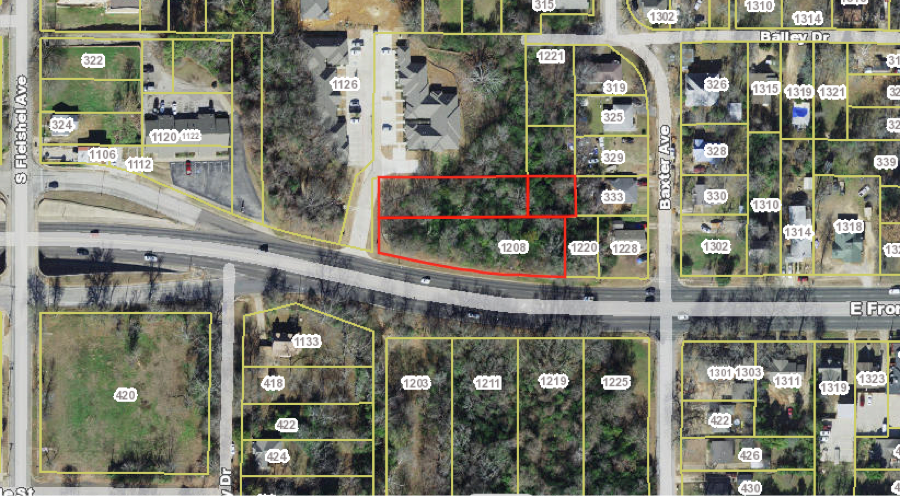 DEVELOPMENT PROPERTY NEAR HOSPITALS TYLER TX FOR SALE