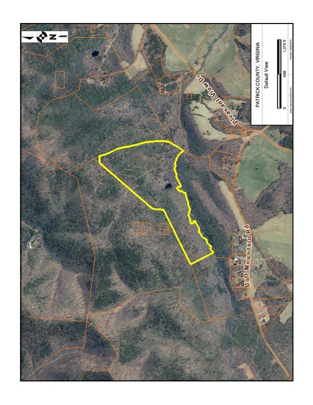 46.86  ACRES OF LAND FOR SELL IN PATRICK COUNTY, VIRGINIA