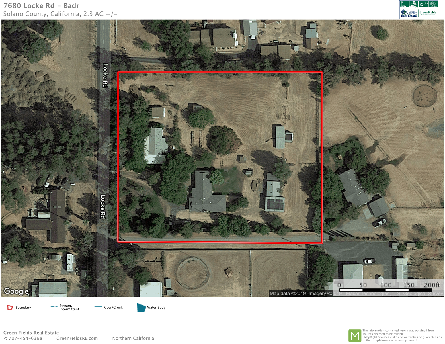 Vacaville, California Country Property For Sale With 2 Homes