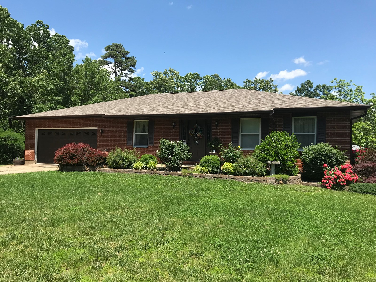 Brick Home on 5.5 +/- Acres