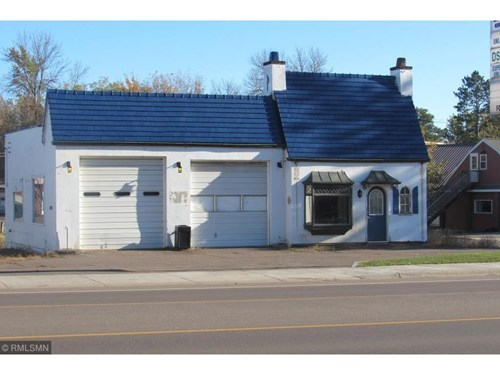 Commercial Building for Sale Downtown Moose Lake, Minnesota