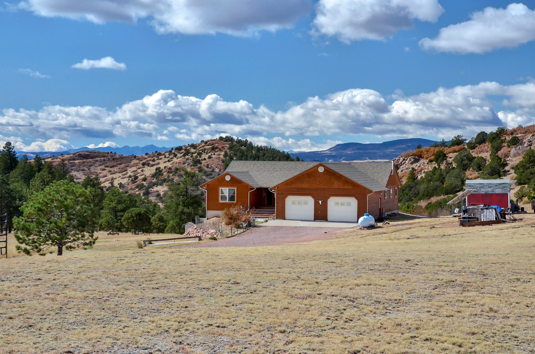Off Grid Home For Sale on Hunting Property in Canon City, CO
