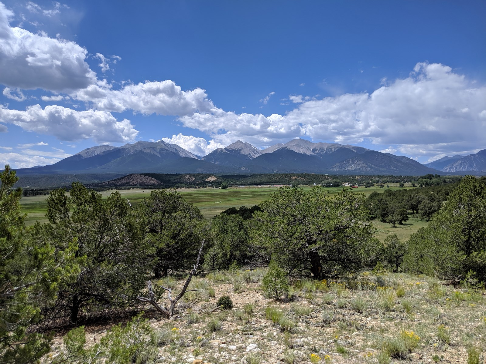 360 Degree Views Colorado Mtns Chaffee Cty Land For Sale