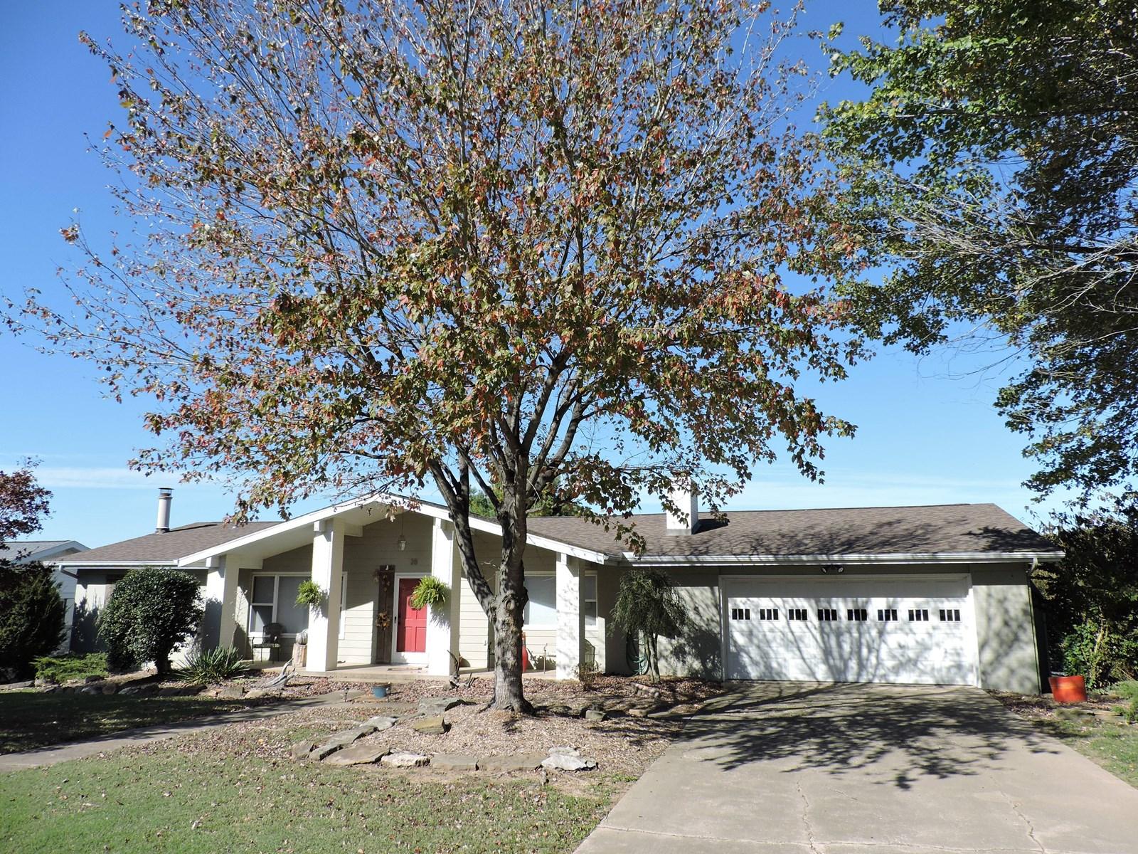 Brick Home in Popular Harrison, Ar Neighborhood