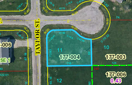 New Construction Lot, Oblong, IL