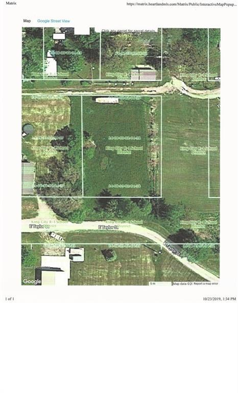 Building Lot with Utilities in King City, MO