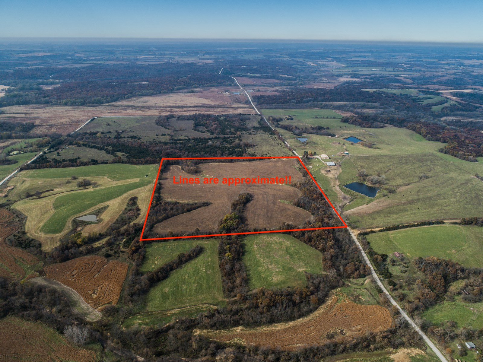 Incoming-producing acreage for sale in Decatur Co Iowa