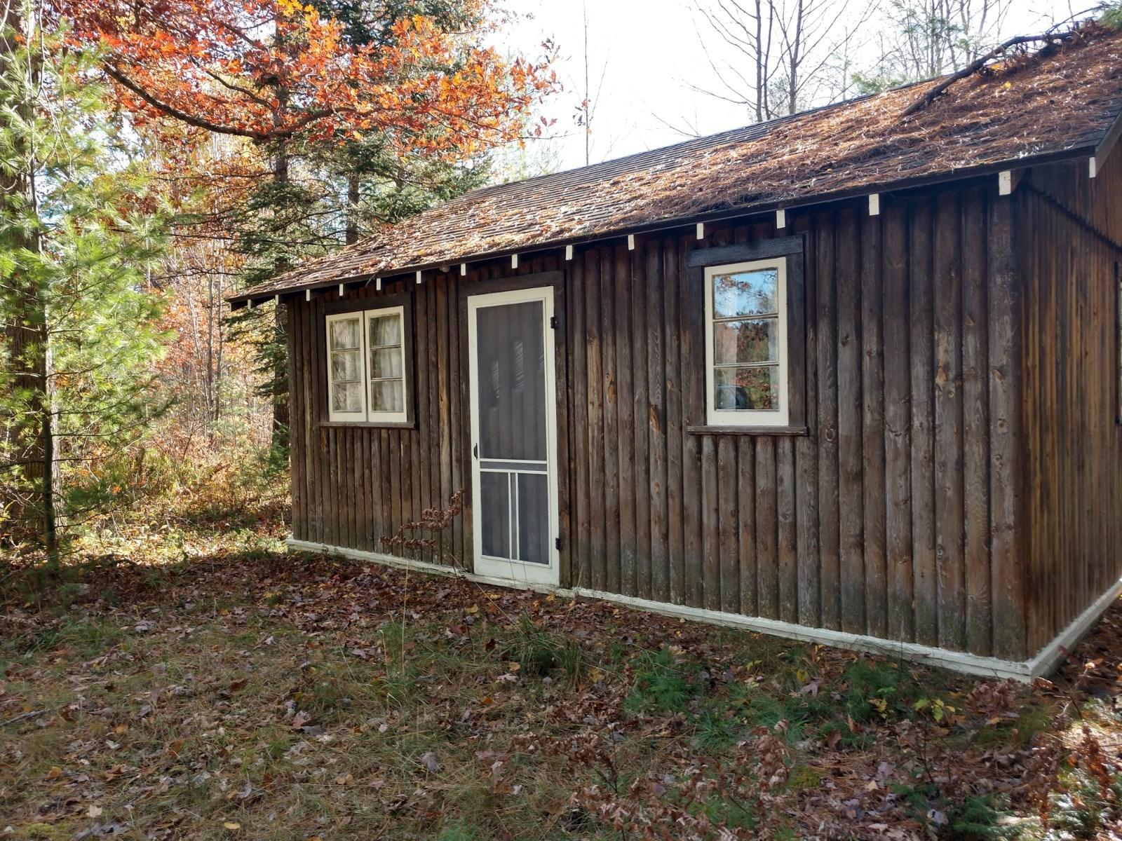 Rustic Log Cabin Near Crooked Lake Atlanta MI