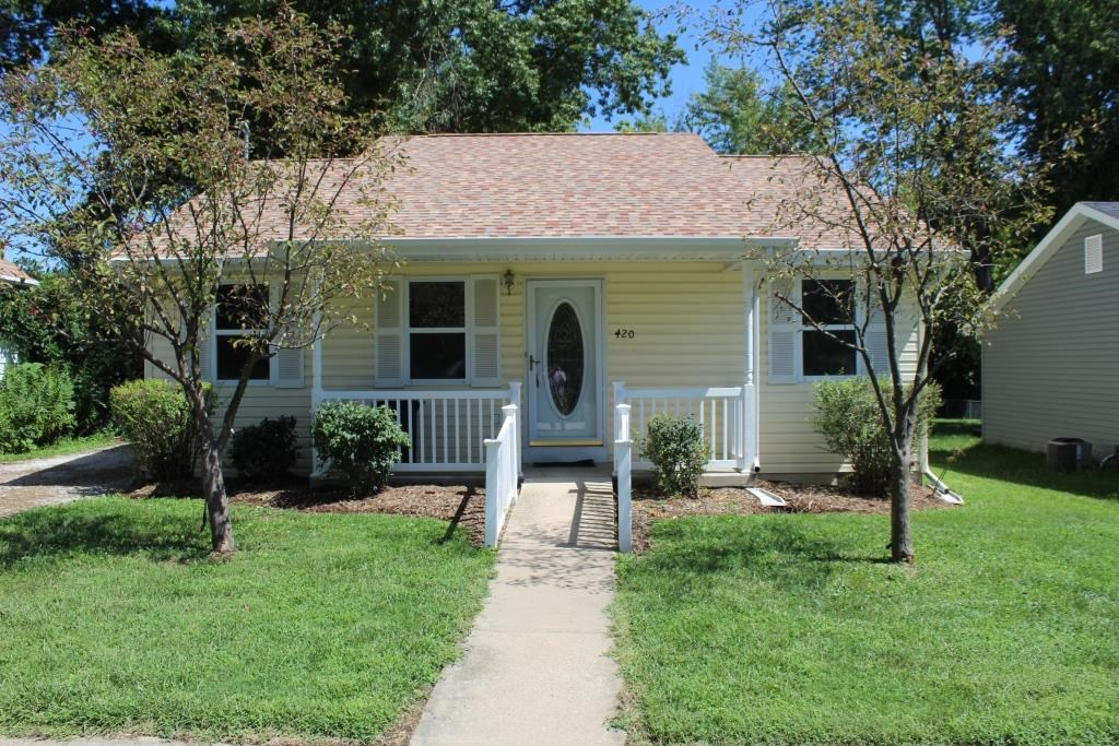 2 BR, 1 BA Home with Storage & Fenced Yard Mexico MO